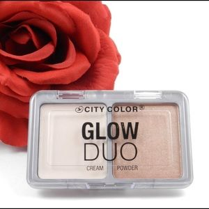 City Color GLOW DUO Creme & Powder Highlight